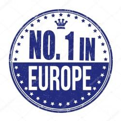 nomber 1 Europe