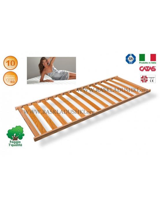 Разборное основание кровати LUXOR WOODFLEX AS-11вкладное 90х190/200 Италия