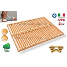 Разборное основание кровати LUXOR WOODFLEX AS-12 вкладное 140х190/200 Италия