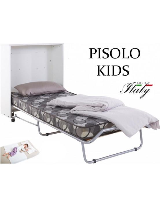 Детская тумба раскладушка PISOLO DOUBLE KIDS 140х200 с матрасом  Италия