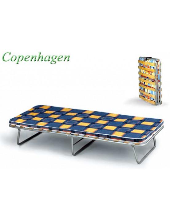 Ортопедическая раскладушка с матрасом COPENHAGEN 80х200 Италия