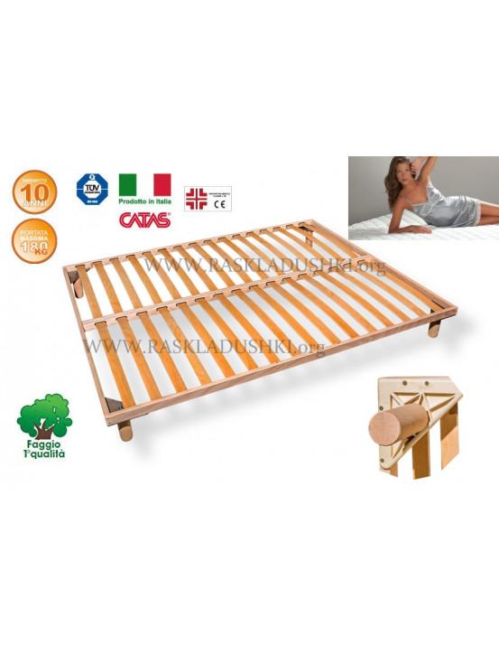 Разборное основание кровати LUXOR WOODFLEX BD-11 Стандарт 200х190/200 Италия