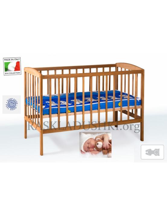 Детская ортопедическая кровать-манеж  BABY CAPRI 02 Италия