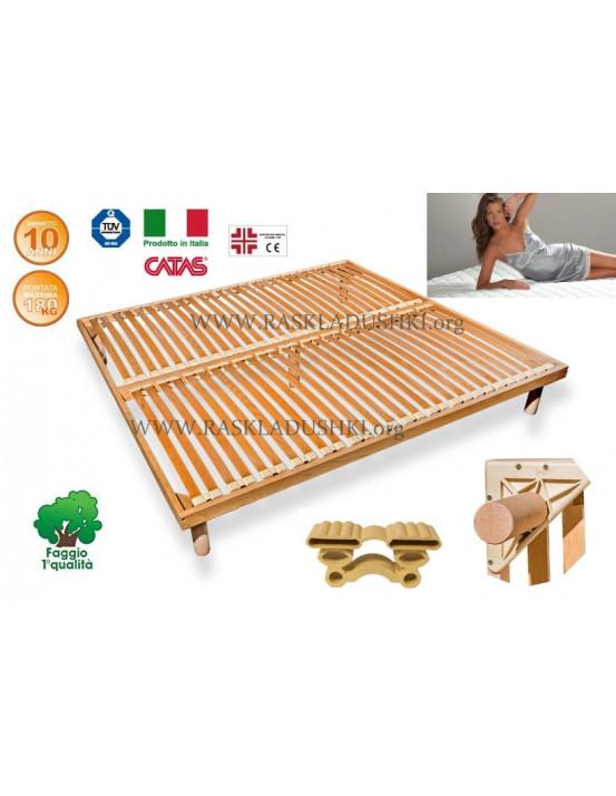 Разборное основание кровати LUXOR WOODFLEX BD-12 Стандарт 200х190/200 Италия