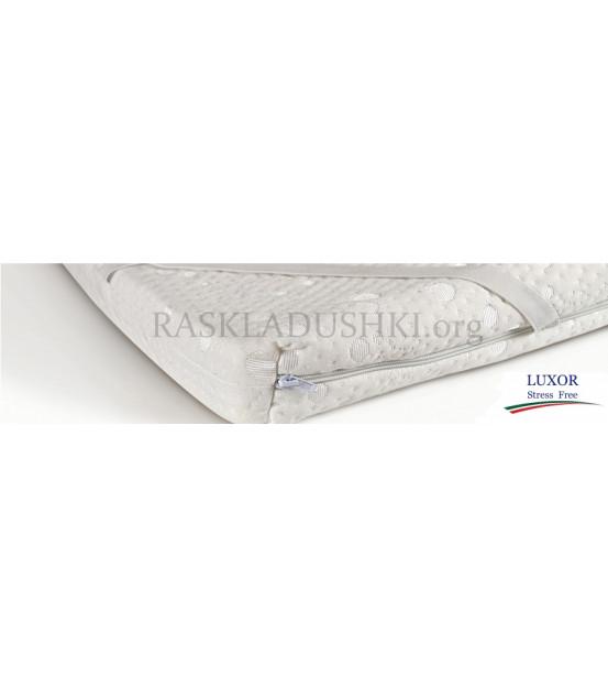 Беспружинный матрас топпер STRESS FREE Double Comfort 180x200х6 Италия