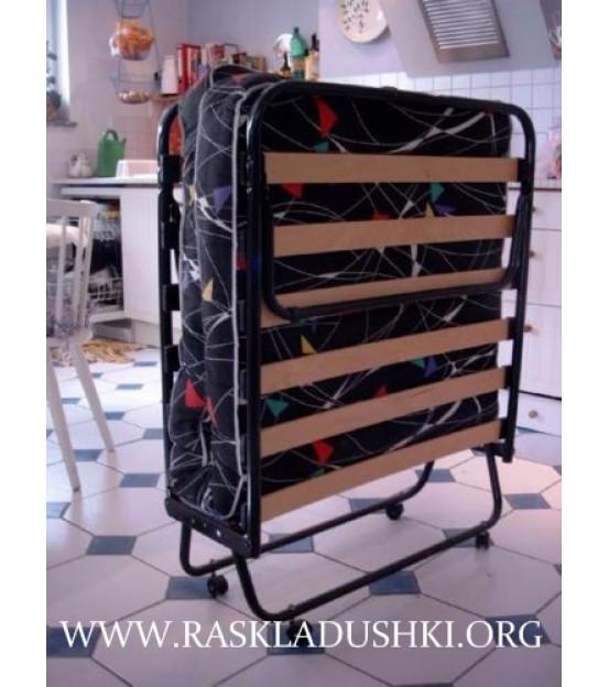 Ортопедическая раскладушка с матрасом COMO 80х200 Италиях