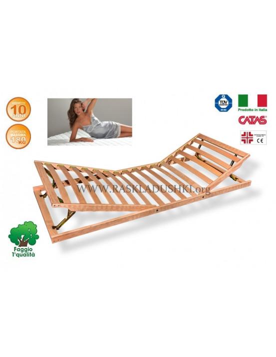Разборное основание кровати LUXOR WOODFLEX AS-13 с регулировкой 90х190/200 Италия
