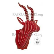 Необычная книжная полка Antilope Италия