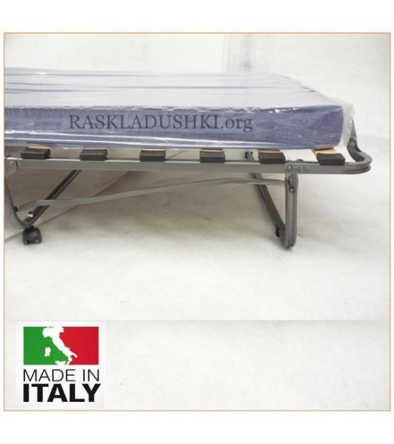 Двуспальная раскладушка с матрасом LUXOR DOUBLE MINI 120х200 Италия