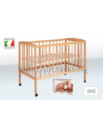 Детская ортопедическая кровать-манеж BABY CAPRI 01 Италия