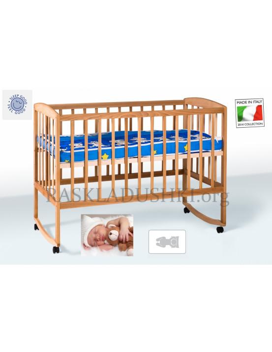 Детская ортопедическая кровать-манеж  BABY CAPRI 03 Италия