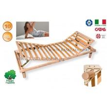 Разборное основание кровати LUXOR WOODFLEX BD-13 с регулировкой 80х190/200 Италия