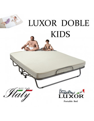 Детская раскладушка LUXOR DOUBLE KIDS 160х200 с матрасом Италия