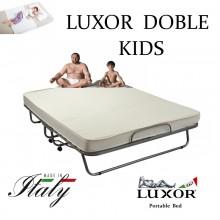 Детская раскладушка LUXOR DOUBLE KIDS 140х200 с матрасом Италия