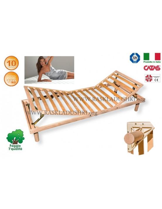 Разборное основание кровати LUXOR WOODFLEX BD-13 с регулировкой 90х190/200 Италия