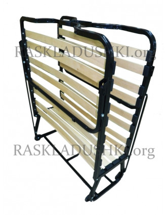 Ортопедическая раскладушка с матрасом зима-лето VIENNA 80х200 Италия