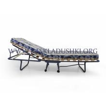 Ортопедическая раскладушка с матрасом зима-лето TOKIO NEW 90х200 Италия
