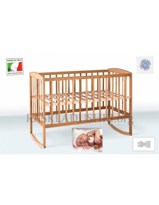 Детская ортопедическая кровать-манеж BABY CAPRI 04 Италия