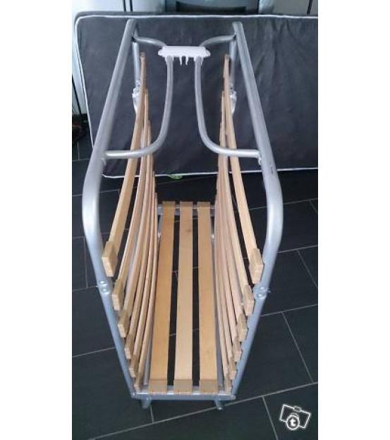 Ортопедическая раскладушка с матрасом зима-лето COMO MINI 80х190 Италия
