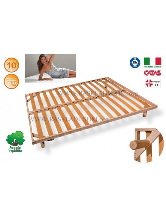 Разборное основание кровати LUXOR WOODFLEX BD-21 Эконом 160х190/200 Италия