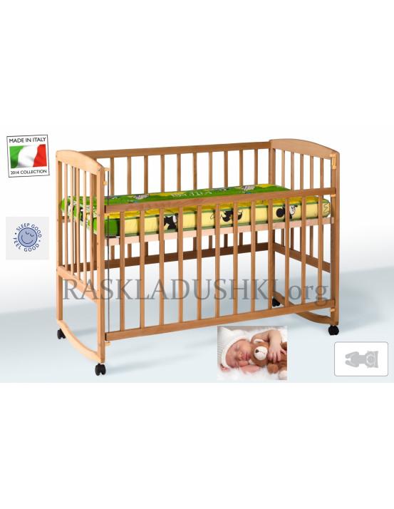 Детская ортопедическая кровать-манеж BABY CAPRI 05 Италия