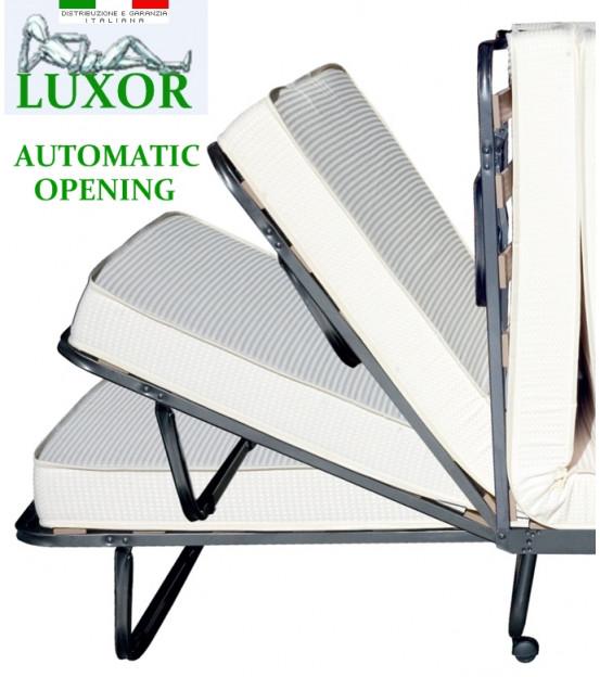 Ортопедическая раскладушка с матрасом зима-лето LUXOR 90х200 Италия