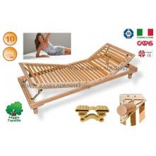 Разборное основание кровати LUXOR WOODFLEX BD-14 с регулировкой 80х190/200 Италия