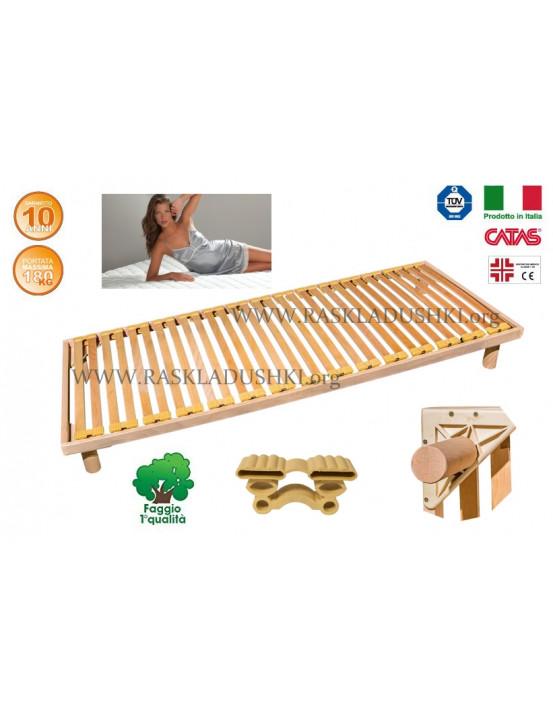 Разборное основание кровати LUXOR WOODFLEX BD-12 Стандарт 90х190/200 Италия