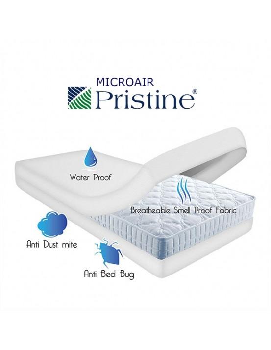 Противоаллергенный защитный чехол на матрац 90х190х18 Pristine США