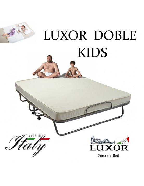 Детская раскладушка LUXOR DOUBLE KIDS 180х200 с матрасом Италия