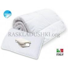 Комплект BERGAMO для раскладушки  одеяло и подушка Италия