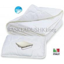 Комплект BERGAMO для двухспальной раскладушки одеяло и 2 подушки Италия