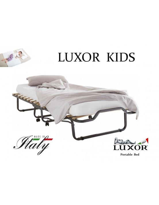 Детская раскладушка LUXOR KIDS 90х200 с матрасом Италия