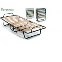 Ортопедическая раскладушка с матрасом BERGAMO 90х200 Италия