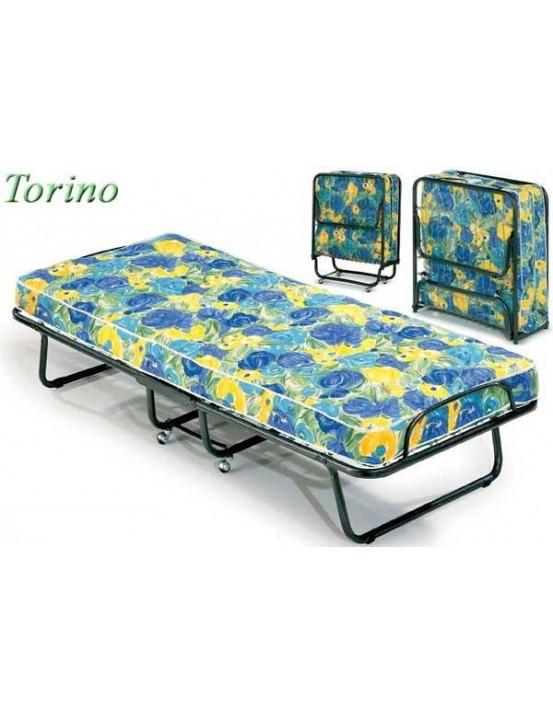Ортопедическая раскладушка с матрасом TORINO 80х200 Италия