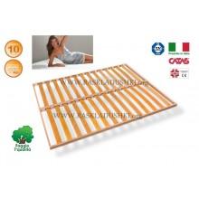 Разборное основание кровати LUXOR WOODFLEX AS-11вкладное 160х190/200 Италия