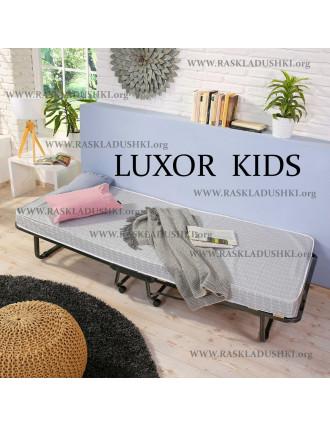 Детская раскладушка LUXOR KIDS 90х200 с матрасом BABY CAP 10 см Италия