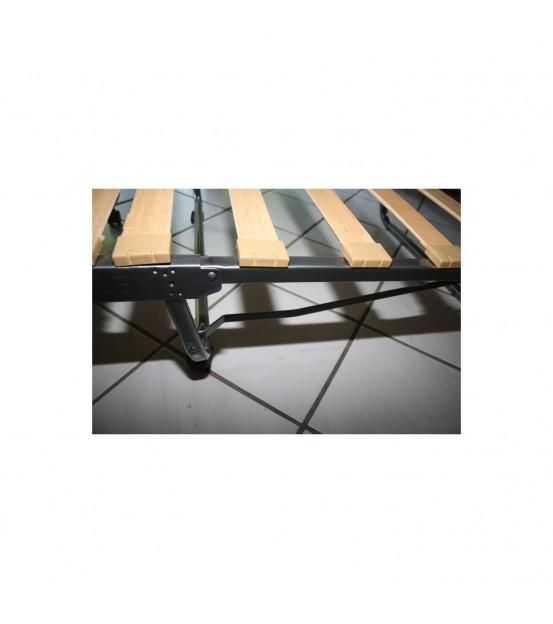 Ортопедическая раскладушка с матрасом зима-лето LIVARNO 90х200 Италия