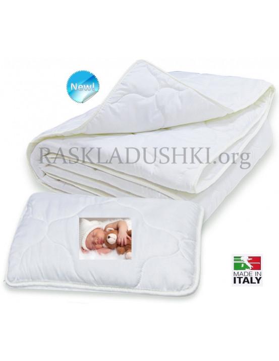 Комплект детский для кроваток BERGAMO KITTY одеяло и подушка Италия