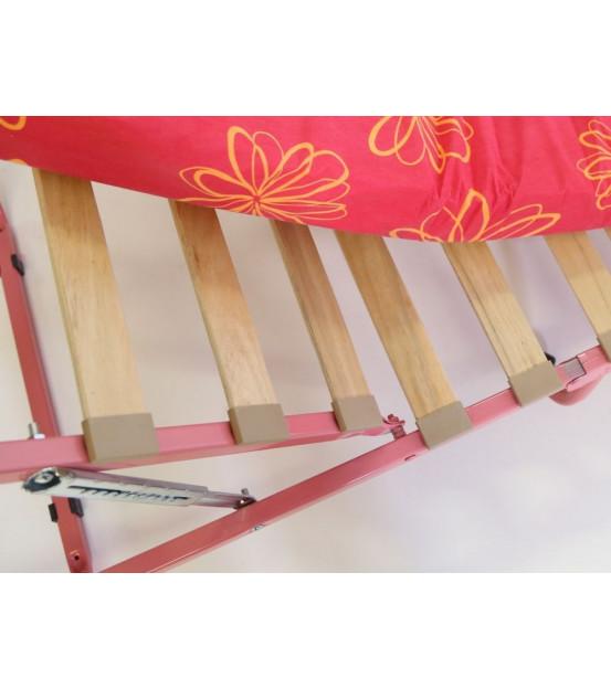 Ортопедическая раскладушка с матрасом зима-лето HAWAII PLUS 90х200 для женщин Италия