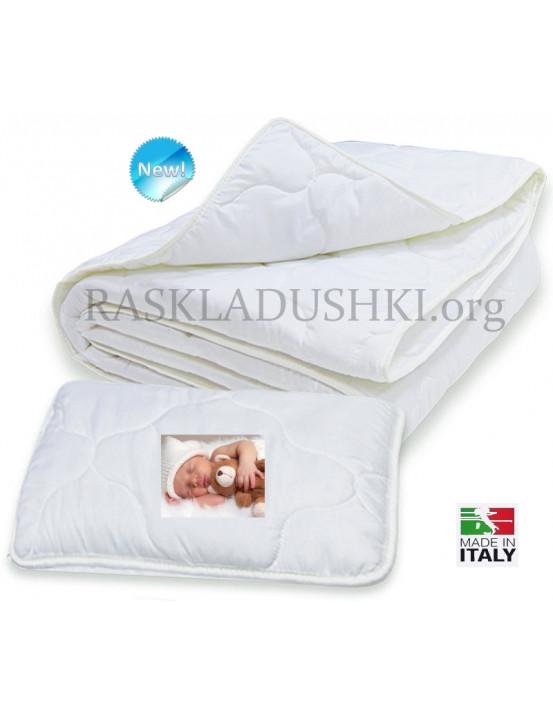 Комплект детский для кроваток BERGAMO FOXY одеяло и подушка Италия