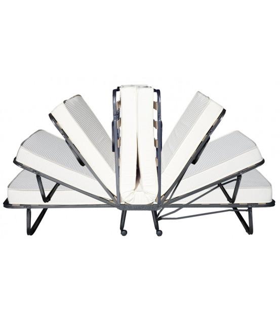 Ортопедическая раскладушка с матрасом зима-лето LUXOR NEW 90х200 Италия
