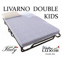 Детская раскладушка LIVARNO DOBLE KIDS 120х200 с матрасом BABY CAP 10 см
