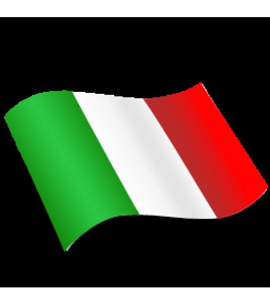 Ролик мебельный на резьбе круглый полиуритановый Италия