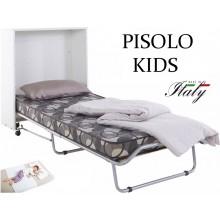 Детская тумба раскладушка PISOLO DOUBLE KIDS 120х200 с матрасом Италия