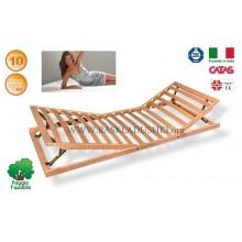 Разборное основание кровати LUXOR WOODFLEX AS-13 с регулировкой 80х190/200 Италия