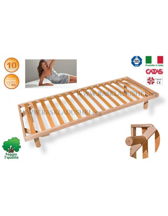 Разборное основание кровати LUXOR WOODFLEX BD-11 Эконом 100х190/200 Италия